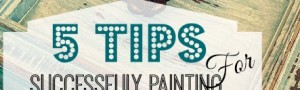 5 Tips For Painting and Repurposing Furniture