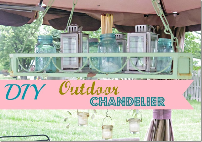 outdoor chandy 3 tea lights