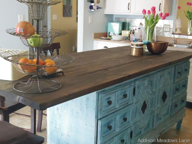 Kitchen Island From Dresser turn a dresser into a kitchen island the chronicles part 2