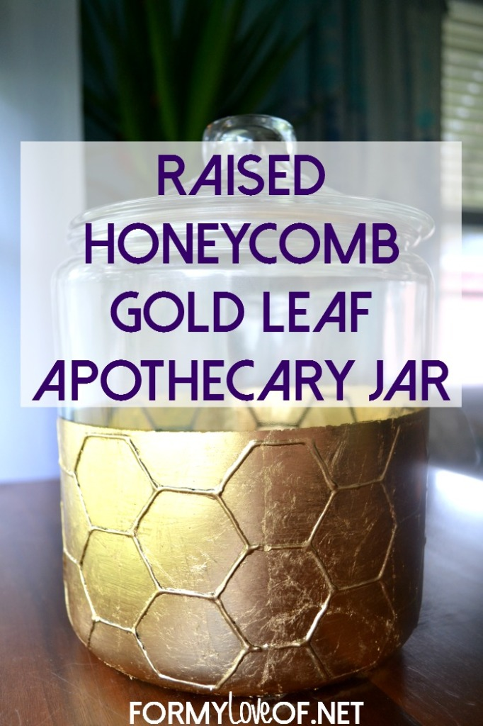 Raised-Honeycomb-Gold-Leaf-Apothecary-Jar