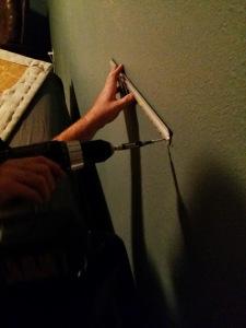 hang wall cleat'