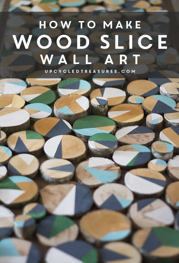 how-to-upcycle-wood-slices-into-wall-art-upcycledtreasures