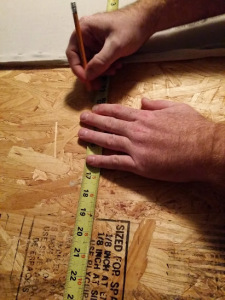 measure for cleat