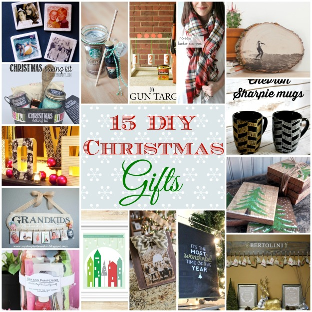 DIY CHristmas gift collage