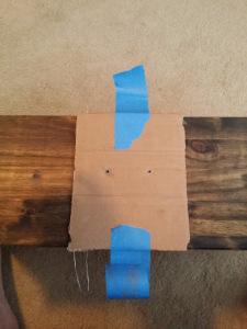 cardboard jig