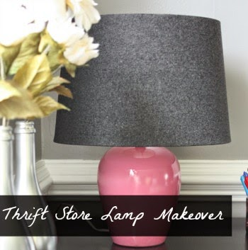 thrift store lamp makeover gallery