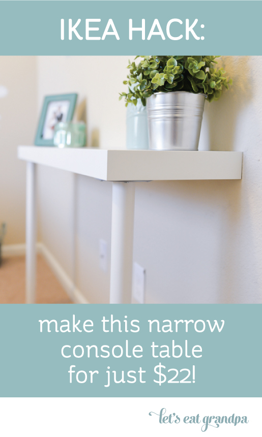 IKEA-Console-Table-Hack