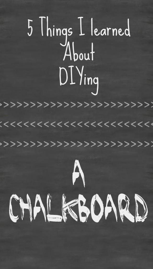 Blank Chalkboarde