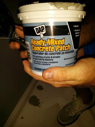 Concrete patch