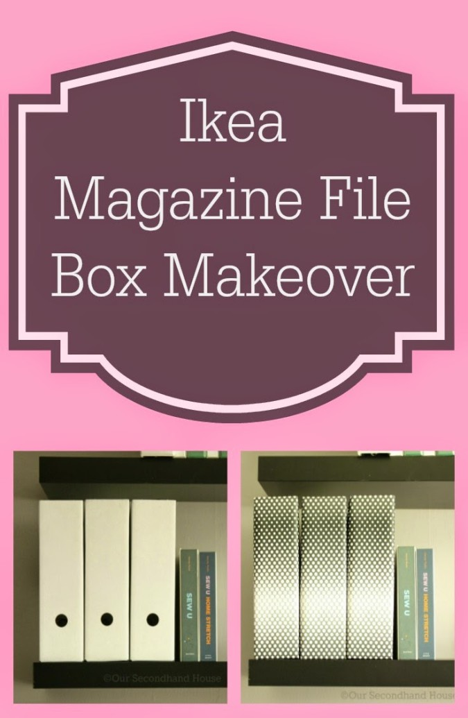 magazine file box pinnable