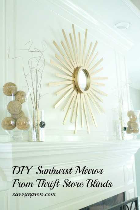 DIY-Sunburst-Mirror-From-Thrift-Store-Blinds-by-savvyapron.com_