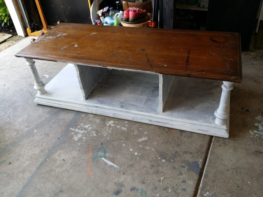 bench before painted bottom