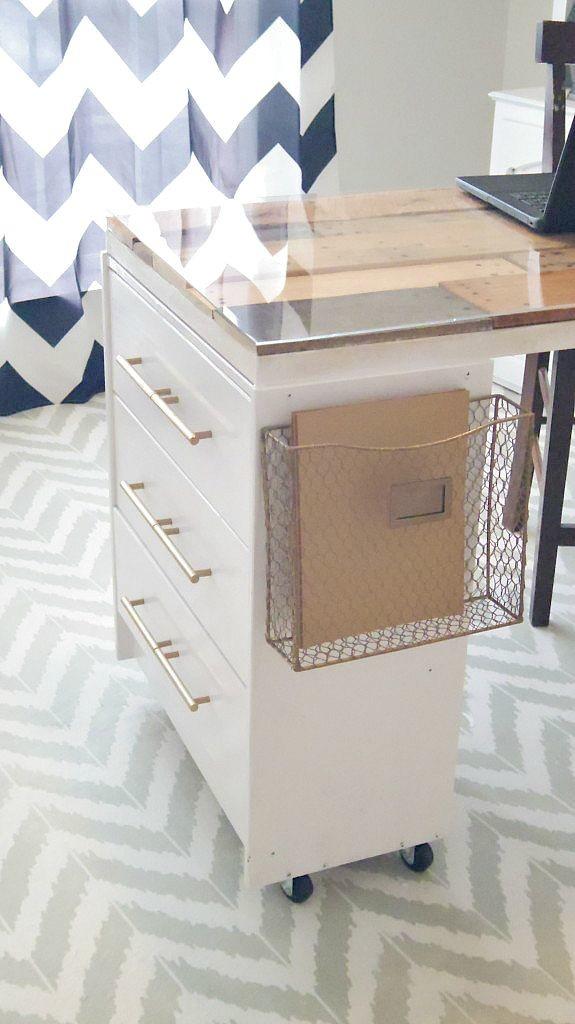 Ikea Rast Hack New Craftroom Desk 183 Addison Meadows Lane