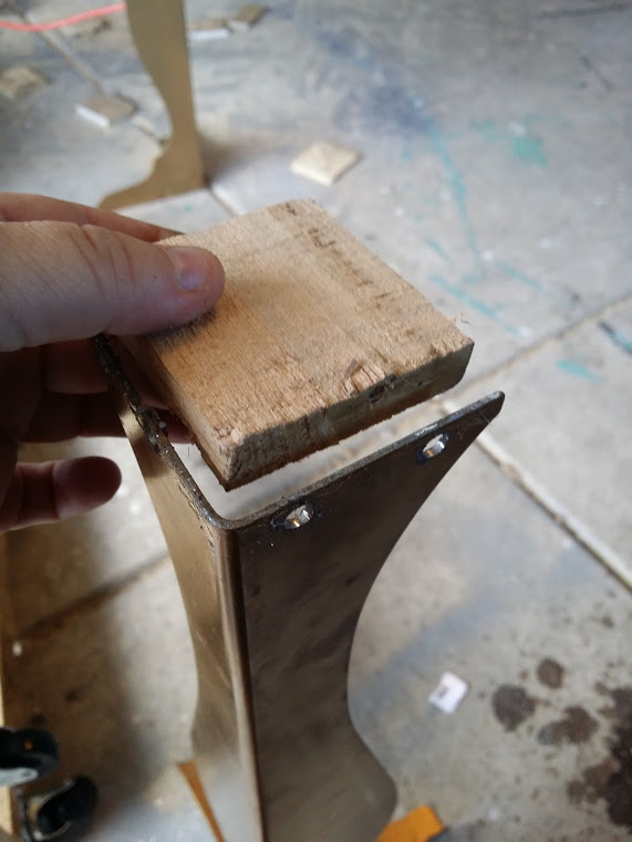 wood for desk leg