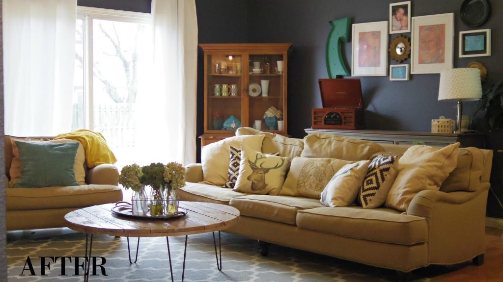 Nautica Inspired Living Room Makeover Addison Meadows Lane