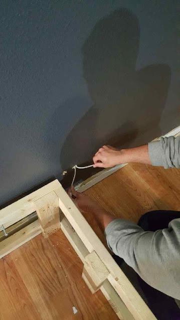 inserting drywall anchors