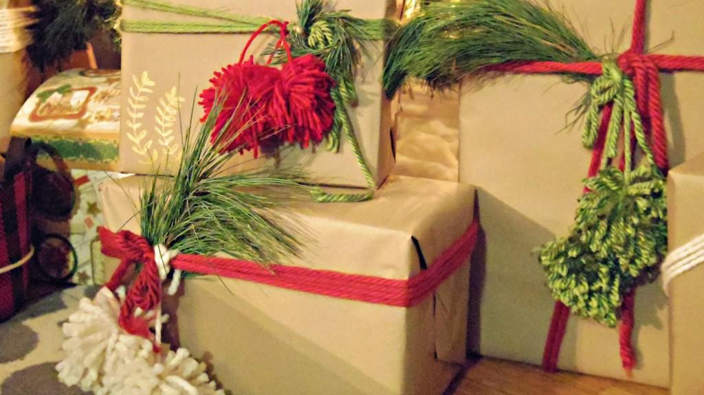 presents close up