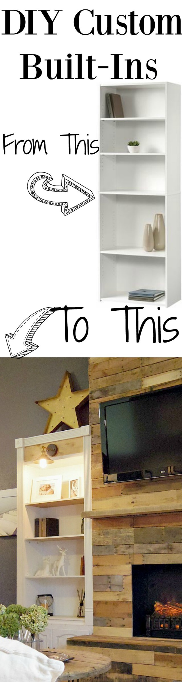 DIY Custom Built-ins PIn image