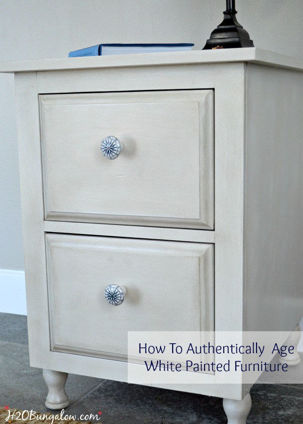 How-To-Authentically-Age-White-Painted-Furniture-DIY-Tutorial-Using-Amy-Howard-Paint-Products-H2OBungalow-1