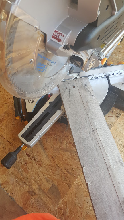how to cut a wooden dowel without a saw