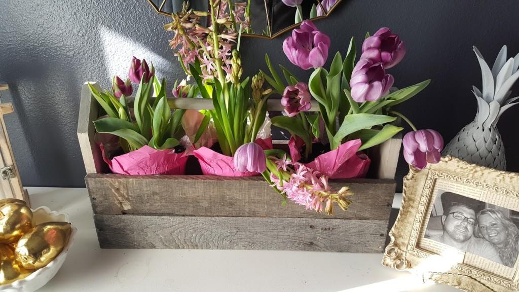 toolbox flowers