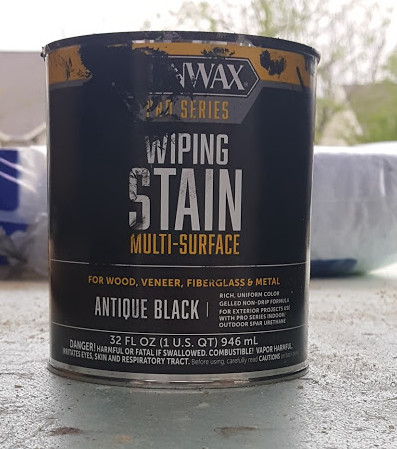 stain antique black