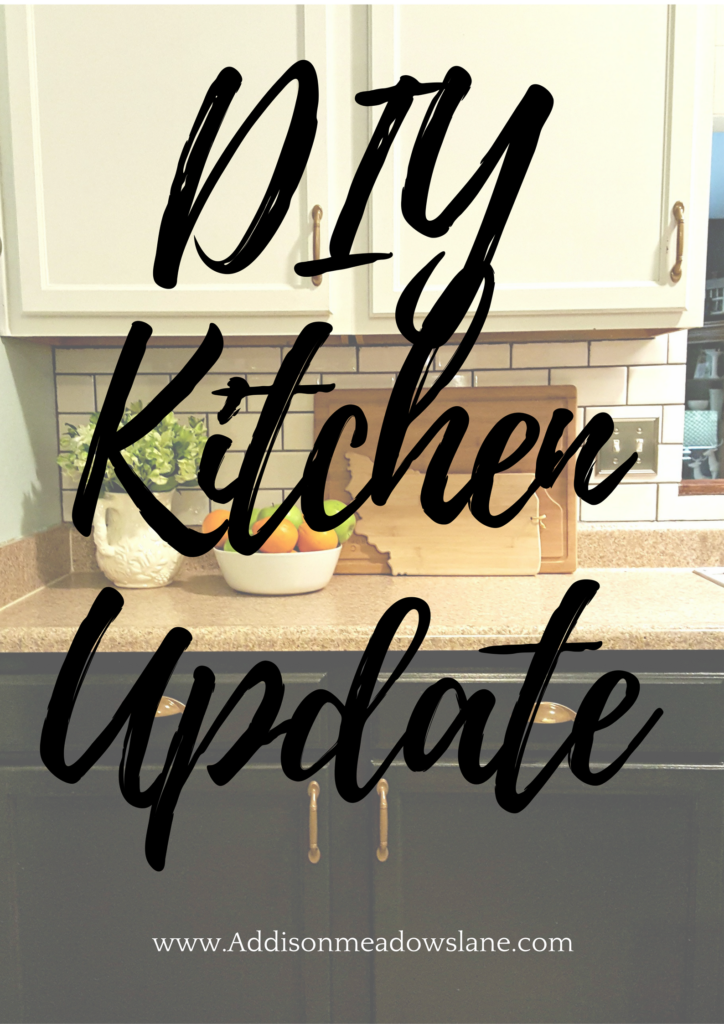 Diy Kitchen Update With Painted Cabinets 183 Addison Meadows
