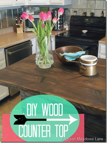 Diy Wood Countertop Dresser To A